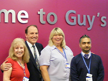 New-look Guy's Hospital entrance opened by Simon Hughes MP