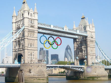 Olympic sponsors' logos to be beamed onto Tower Bridge