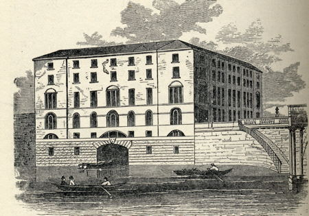 Albion Mills at Blackfriars