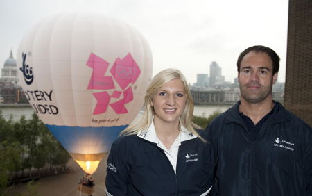 Rebecca Adlington and David Edwards