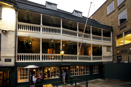 George Inn reopens after refurbishment