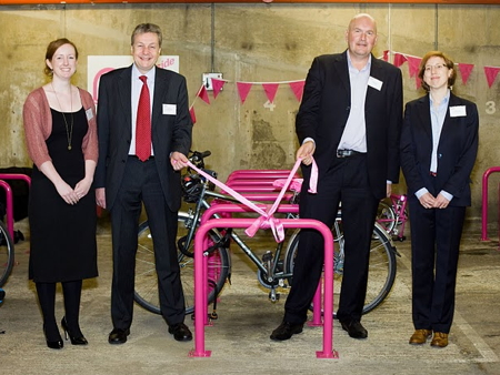 Better Bankside launches secure cycle park in Hopton Street