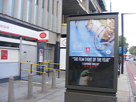 Dozens of scrolling advert panels to appear on Southwark streets