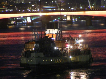 Funding crisis as Waverley arrives in Pool of London