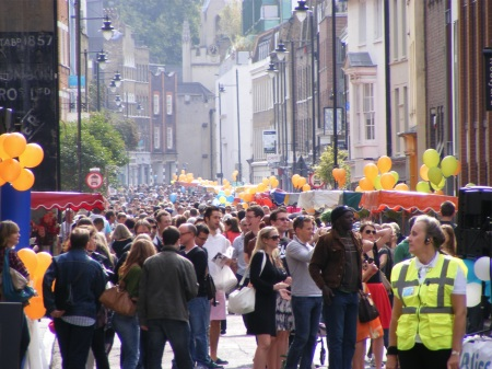 Bermondsey Street Festival attracts thousands