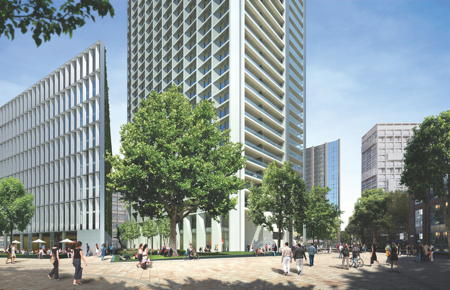 Ministry of Sound and skyscraper flats can co-exist insists developer