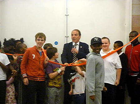Spa School's new building opened by Simon Hughes MP