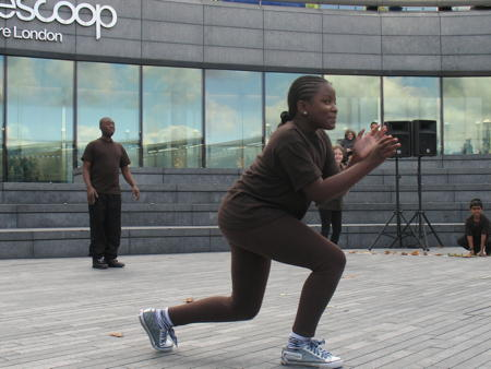 20 local adults and children create dance performance for The Scoop