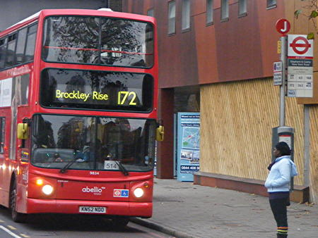 Bus route 172: Abellio told to raise its game