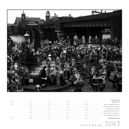 Local photographer Steve Hollingshead launches 2012 London calendar