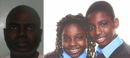 Life sentence for man who killed his two children at Empire Square