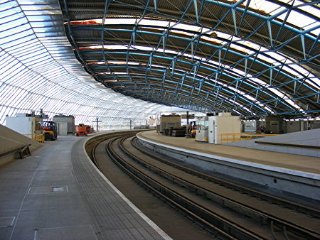 Waterloo International: one of five platforms to reopen in 2014