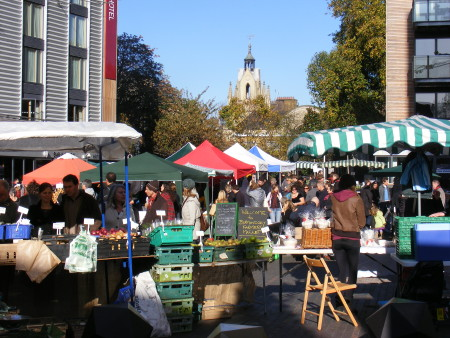 Farmers' market to remain in Bermondsey Square after all