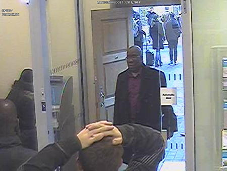 Can you help police identify man seen on CCTV at Barclays Bank?