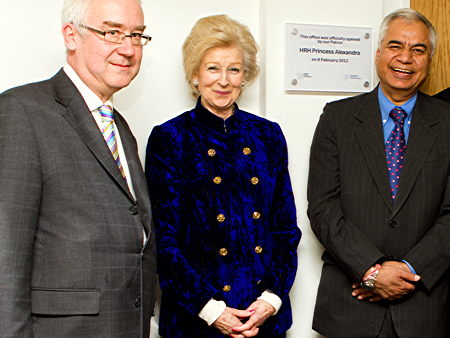 Princess Alexandra opens Mental Health Foundation's new offices