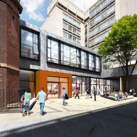 Work starts on new LSBU student centre