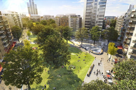 Lend Lease unveils final masterplan for Elephant & Castle's Heygate Estate