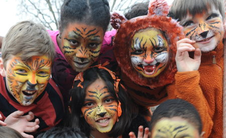 SE1 primary school pupils to raise cash for endangered tigers