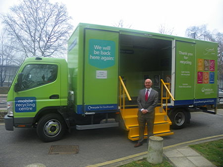 Southwark's mobile recycling centre coming to SE1 estates