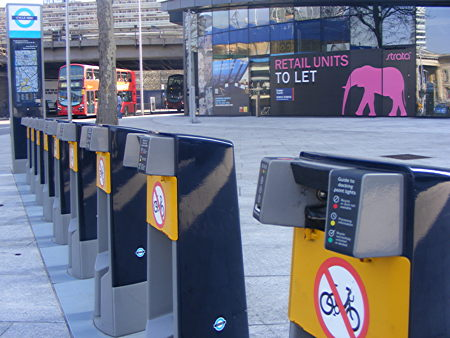 Cycle hire station shut for two months as workers damage cables
