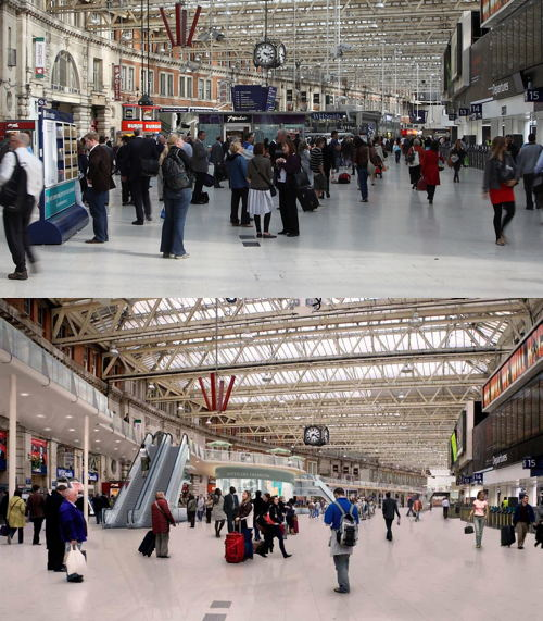 Waterloo remains UK's busiest station; Carluccio's opening soon