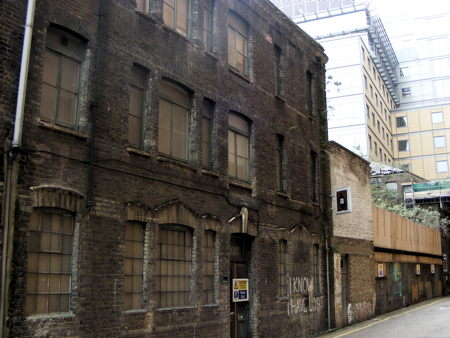 Bankside s last derelict warehouse to be redeveloped as for Apart hotel londre