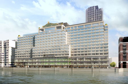 Buckingham Palace balcony to be depicted on Sea Containers House