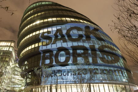 Sack Boris at City Hall