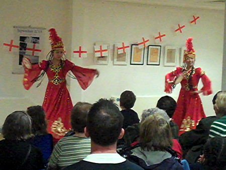St George celebrations in Southwark: Catalan, Ethiopian and Somali-style