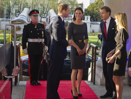 BFI, MI6 & IWM: William and Kate visit SE1 three times in a week