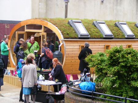 Bankside Open Spaces Trust launches EcoHouse in Ayres Street
