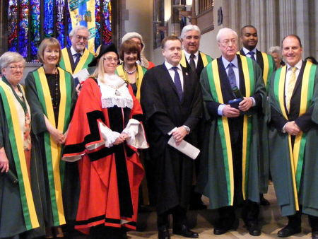 Southwark Civic Awards for volunteers, MPs, war hero and actor