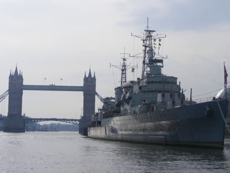 HMS Belfast reopens six months after gangway collapse