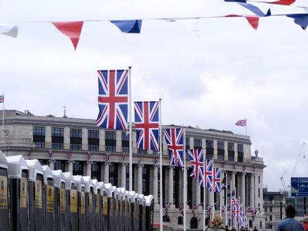 Queen's Diamond Jubilee Weekend in SE1: Saturday 2 June 2012