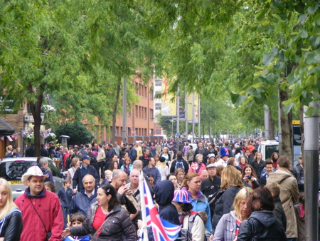Queen's Diamond Jubilee Weekend in SE1: Sunday 3 June 2012