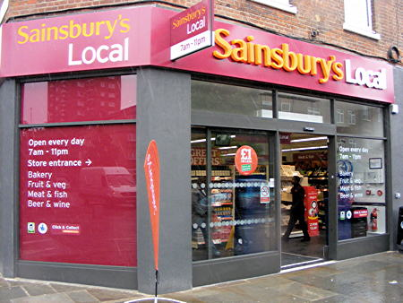 Sainsbury's Local in The Cut