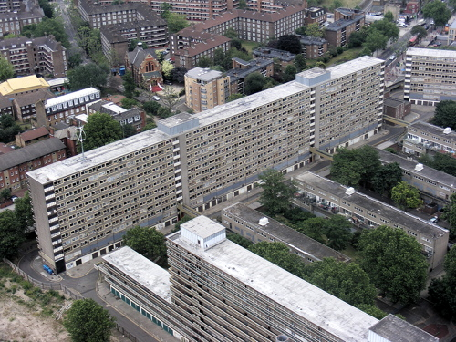 The Heygate Estate in 2009