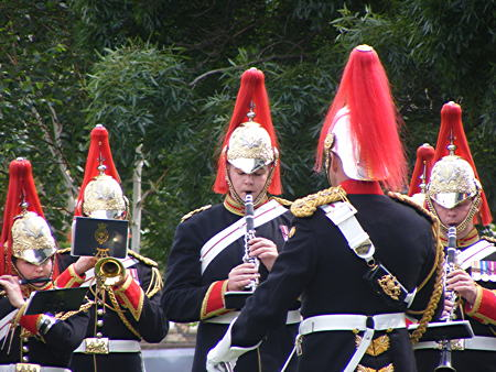 The Band of the Blues and Royals in Potters Fields