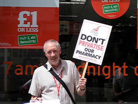 NHS staff step up campaign against Sainsbury's pharmacy takeover