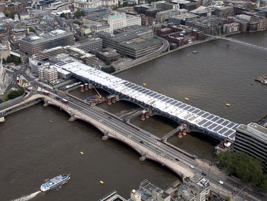 New Aerial Photos Of Blackfriars And London Bridge