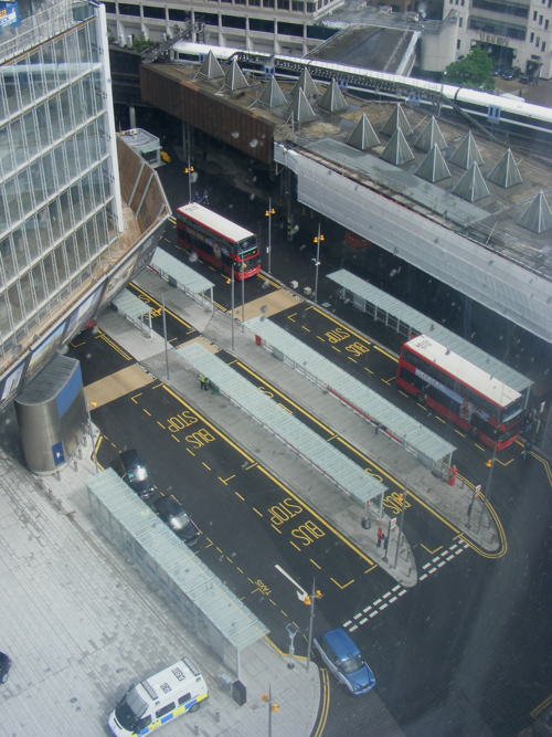 New London Bridge Bus Station completed