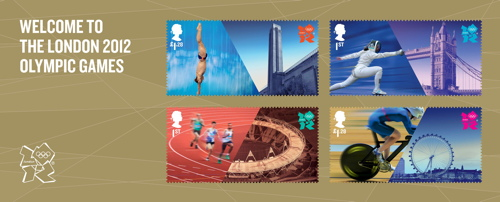 Tate Modern, London Eye & Tower Bridge feature on Olympic stamps