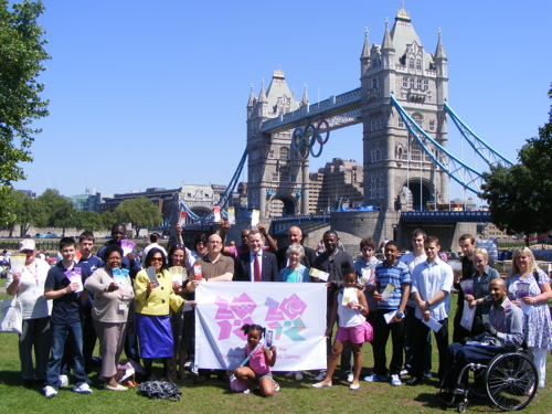 Southwark locals get 2012 games tickets paid for by Potters Fields Park corporate hire