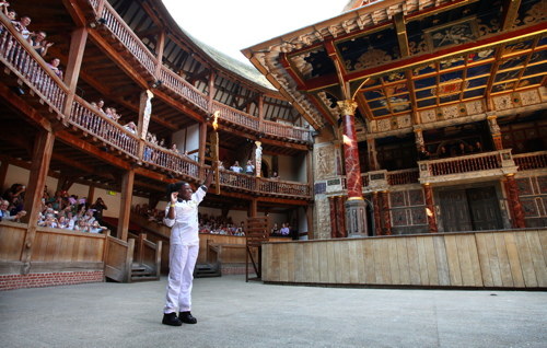Ify Egesi at Shakespeare's Globe