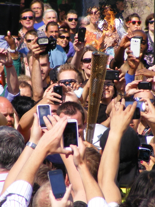 Olympic Torch Relay comes to Southwark