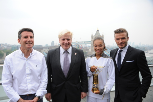 Olympic Torch Relay ends 70-day tour at London's City Hall