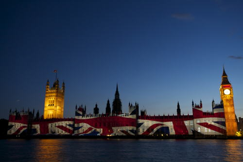 Parliamentary projections provide new South Bank spectacle
