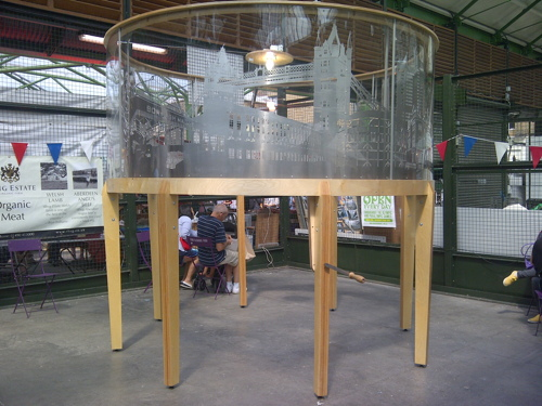 Borough Market hosts carousel celebrating the SE1 skyline
