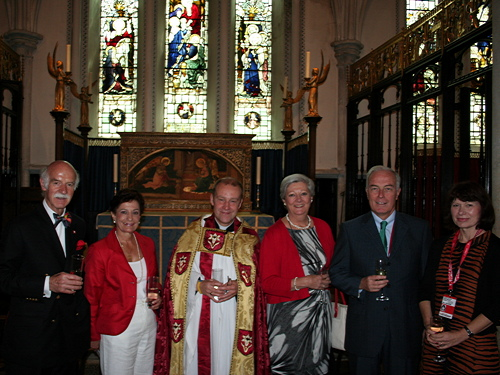 Swiss Church at Southwark Cathedral for 250th anniversary service