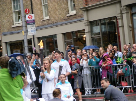 Paralympic Torch comes to Waterloo and Tooley Street